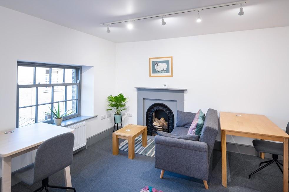 Second floor co-working space